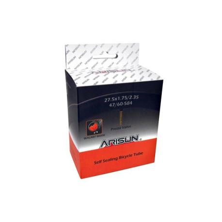 Cámara Arisun SEALANT 27.5x1.75/2.35 - válvula presta