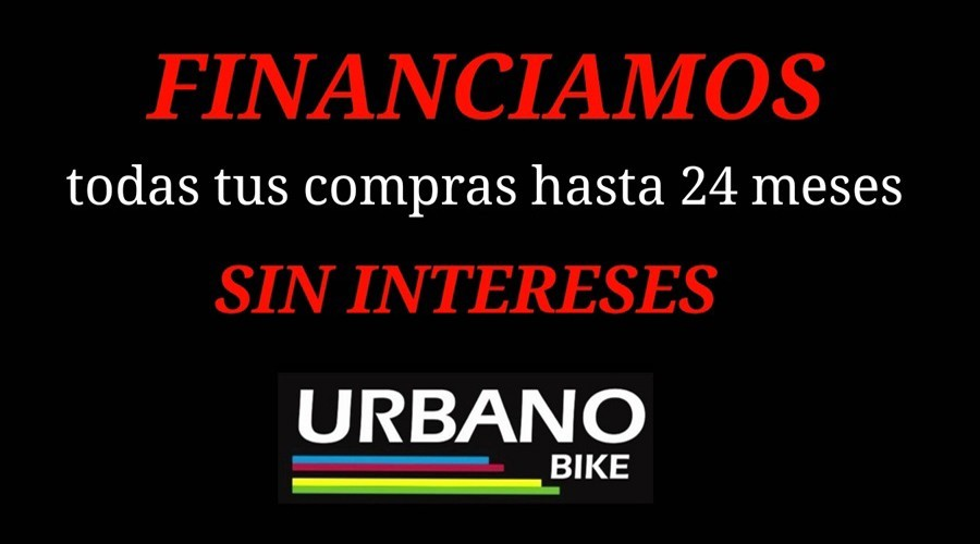 Urbano-Bike, financiación sin intereses